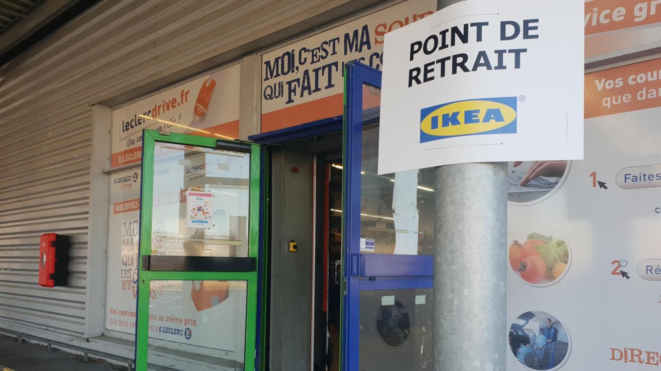 Attin Ikea Crée Un Point Retrait Au Drive De Lhypermarché