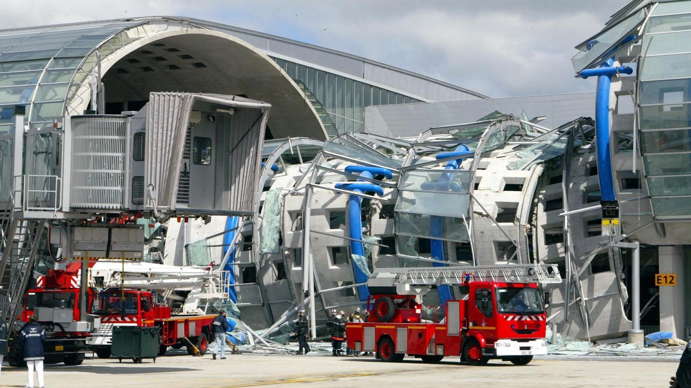 ADP condamné à 225 000 euros d'amende pour l'effondrement mortel à Roissy en 2004