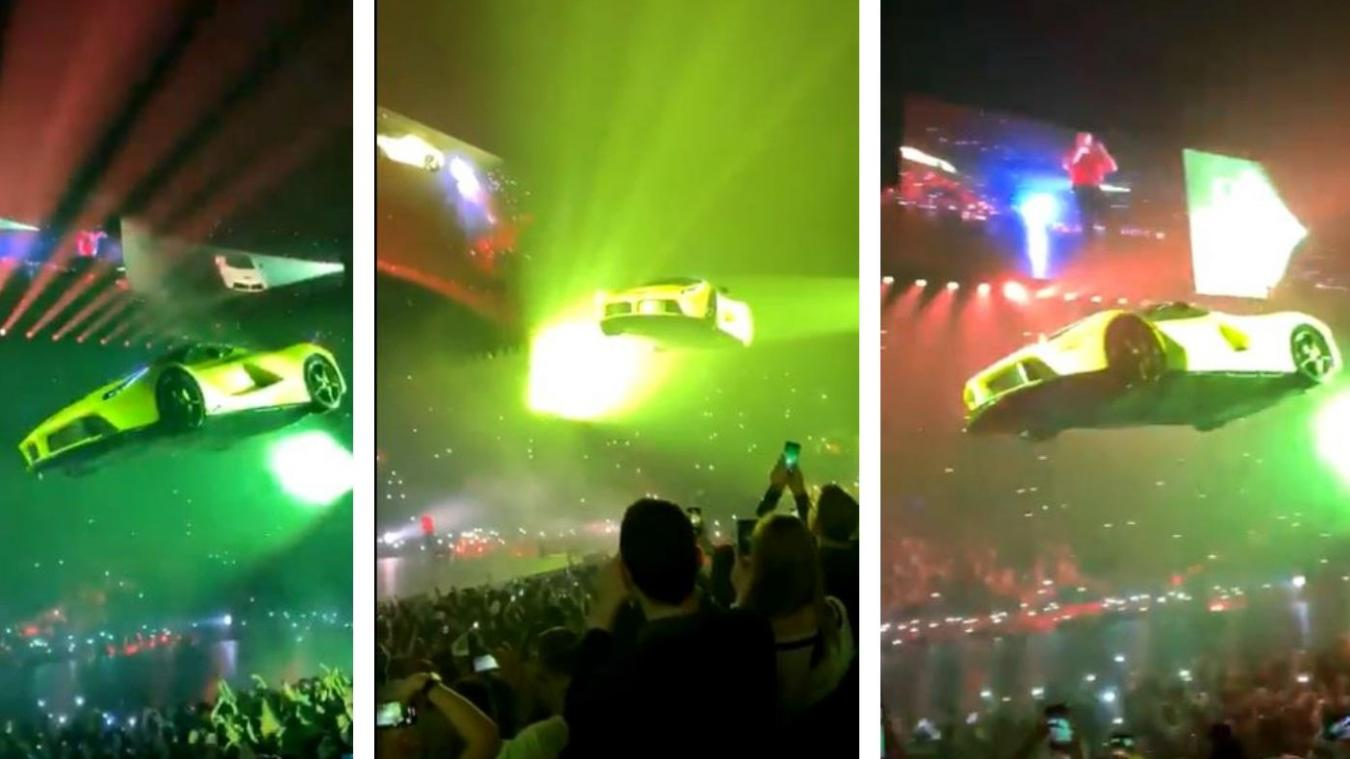 Drake invite Hamza sur scène lors de son passage à l'Hotelaccor Arena !
