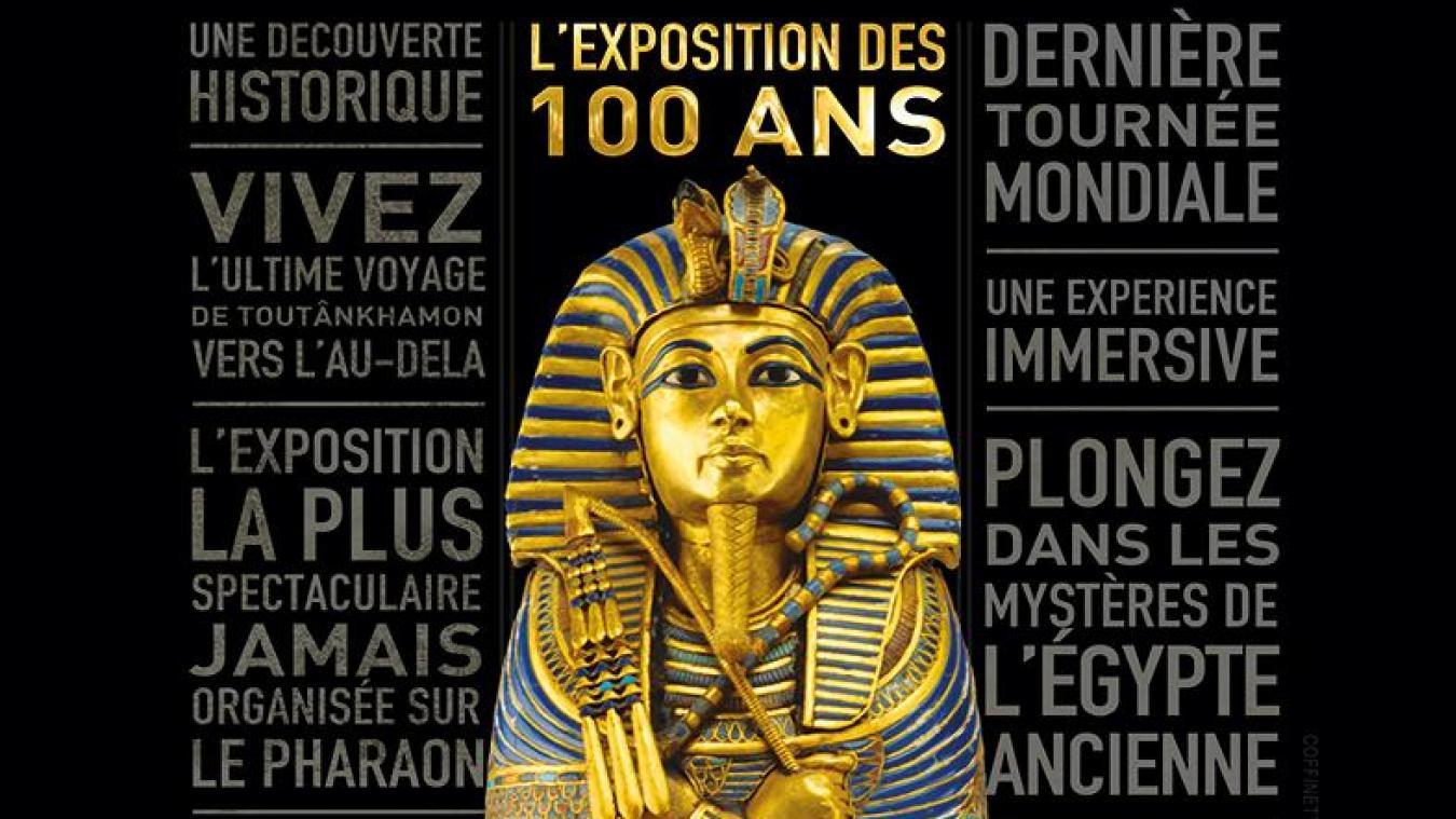 Une exposition consacrée à Toutânkhamon — Paris
