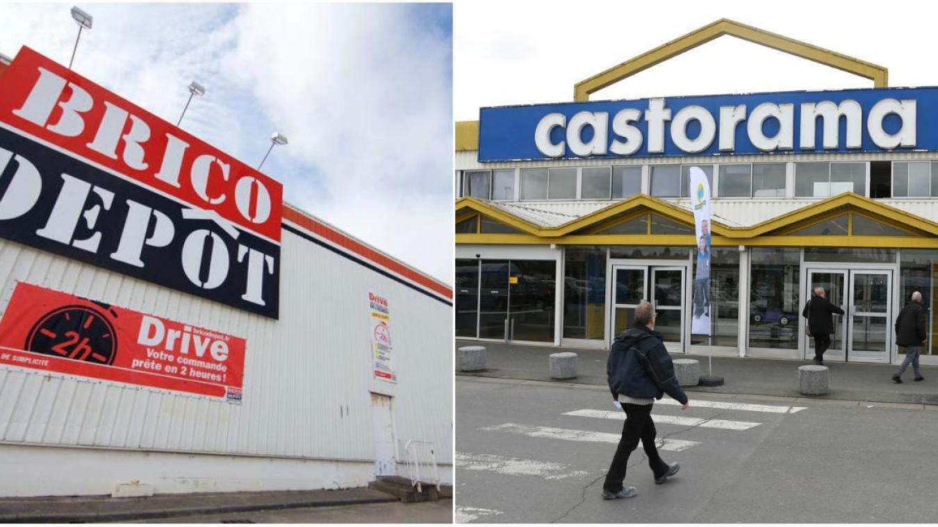 Castorama Carte Des Magasins.Exclusif Le Magasin Brico Depot De Calais Et Le Castorama De