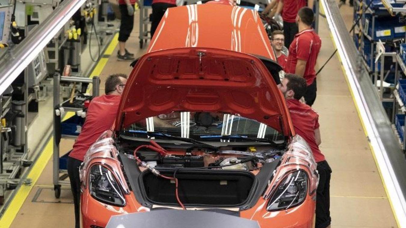 Un bonus de 9700 euros à tous ses employés — Porsche