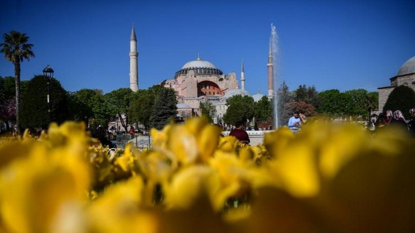 Erdogan veut que Sainte-Sophie redevienne une mosquée — Istanbul