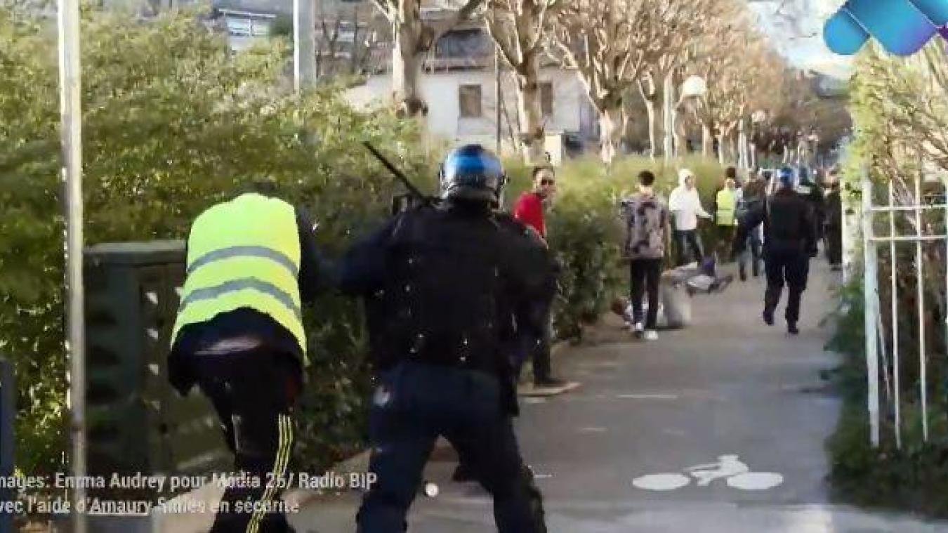 Une bavure policière à Besançon — Vidéo]