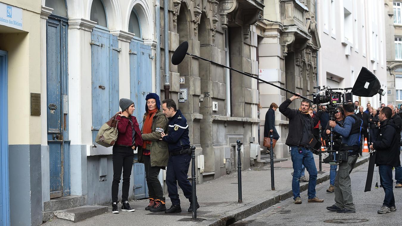 Corinne Masiero, alias Capitaine Marleau, vedette d'un futur téléfilm de TF1