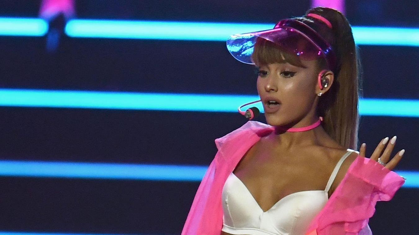 Ariana Grande souffre de stress