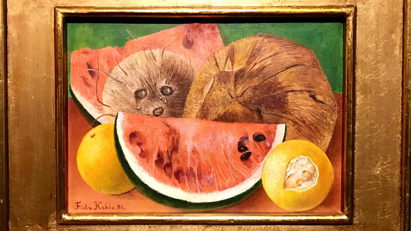 « Los Cocos » sera le seul tableau de Frida Kahlo exposé à Lille.