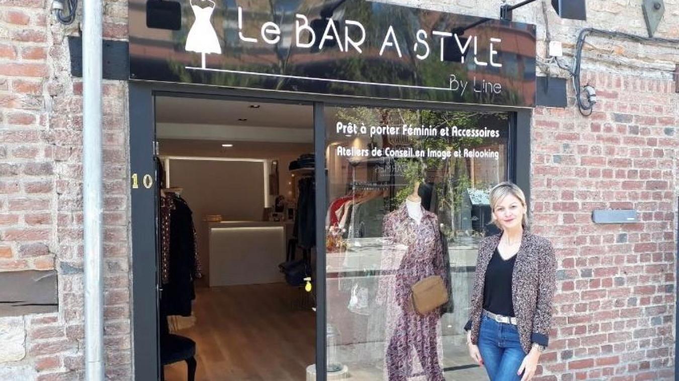 Aline vous accueille au Bar à style à Valenciennes, un nouveau concept de boutique de mode avec des conseils personnalisés.