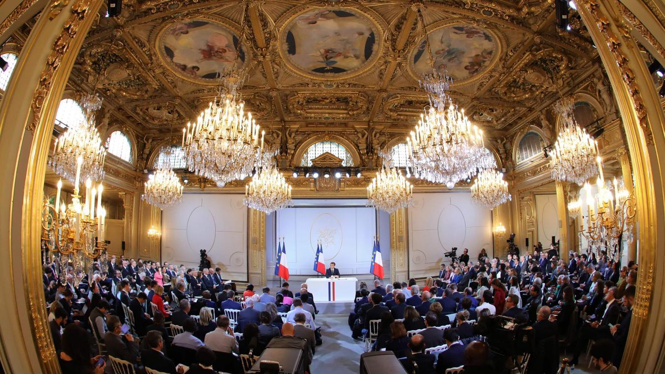Les réactions des personnalités politiques — Annonces d'Emmanuel Macron