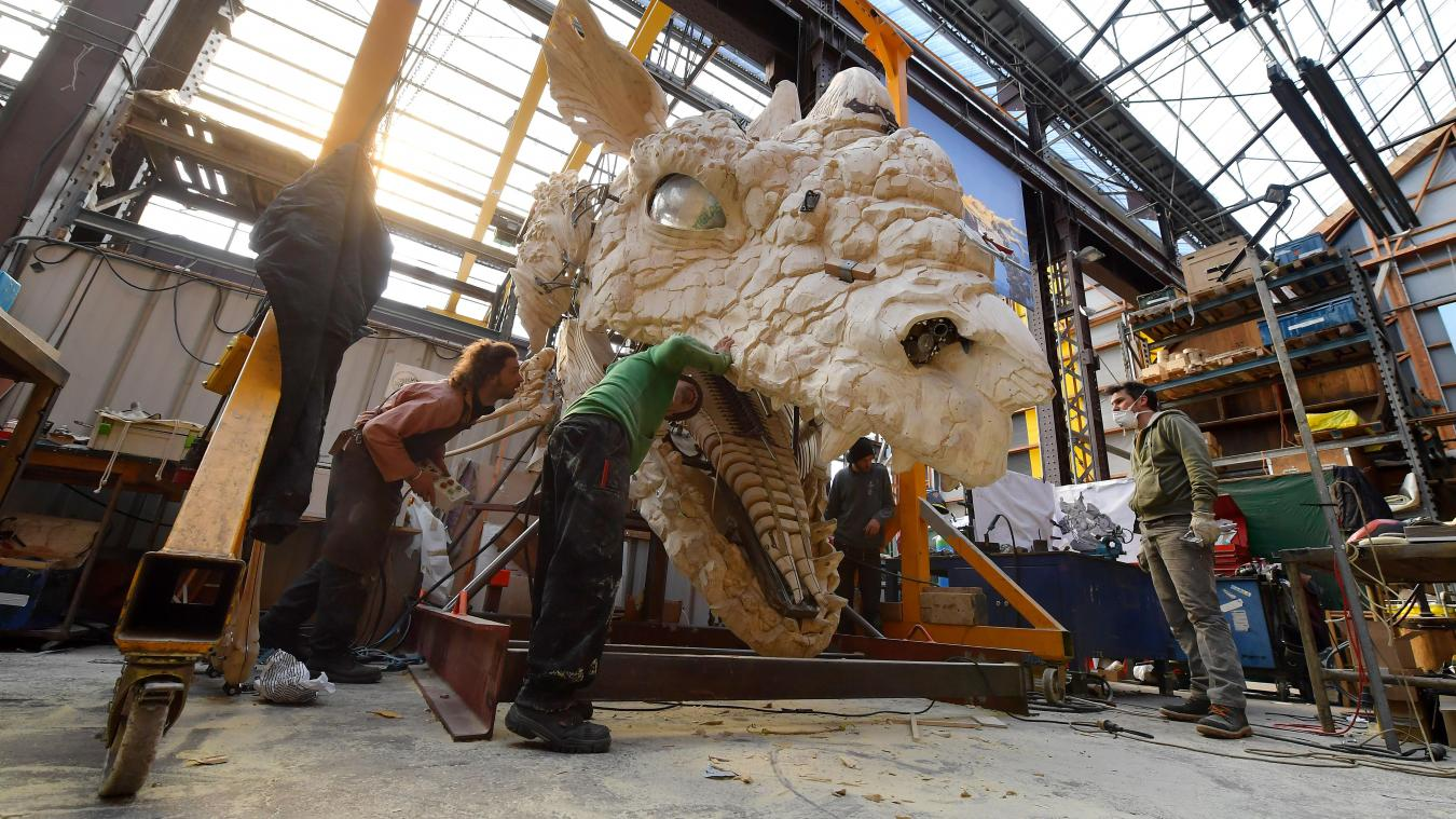 Atelier De La Cuisine Nantes nantes le dragon de calais prend forme dans les ateliers de