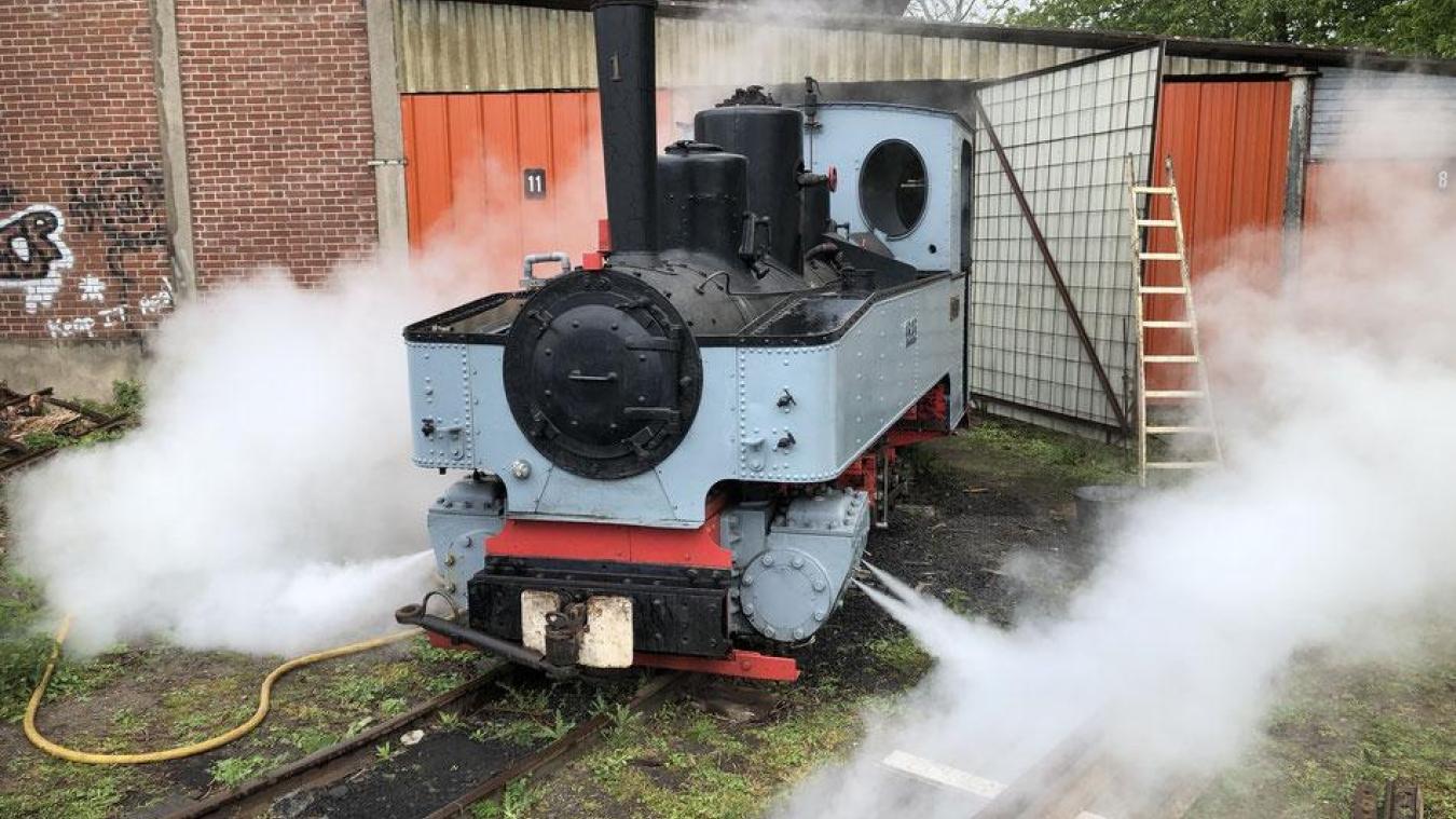 wholesale dealer cda30 9e4f3 Saint-Amand-les-Eaux Le petit train à vapeur de la vallée la ...