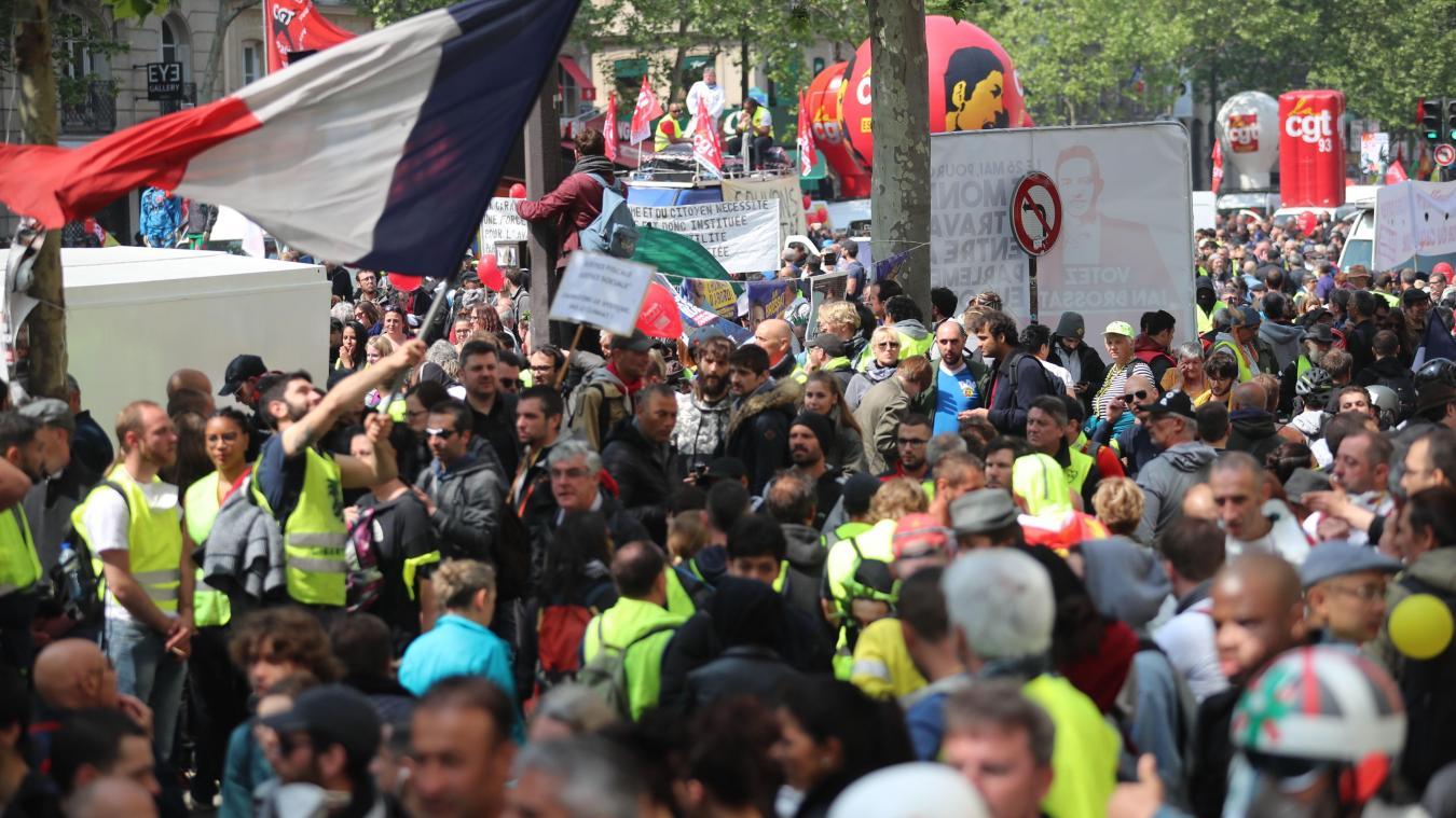 Défilés du 1er-Mai partout en France, tensions à Paris