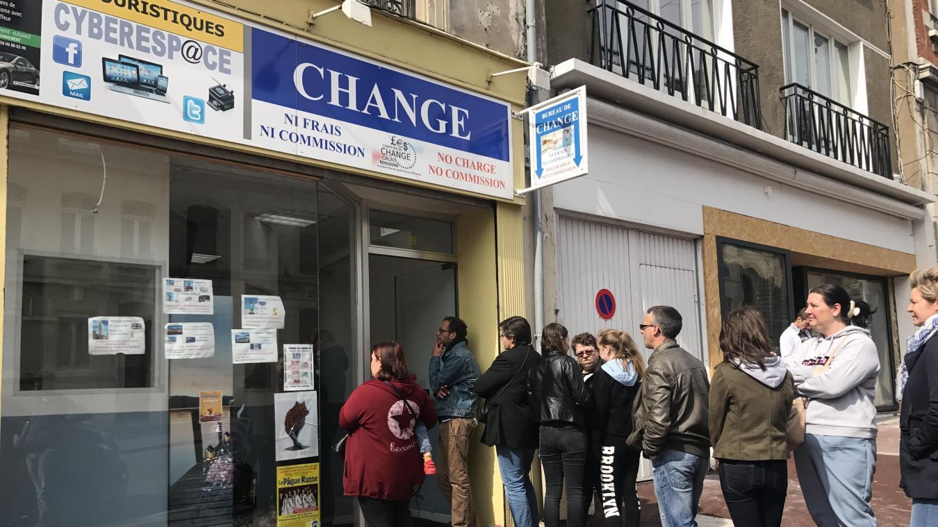 Boulogne mais pourquoi le bureau de change de la grande rue