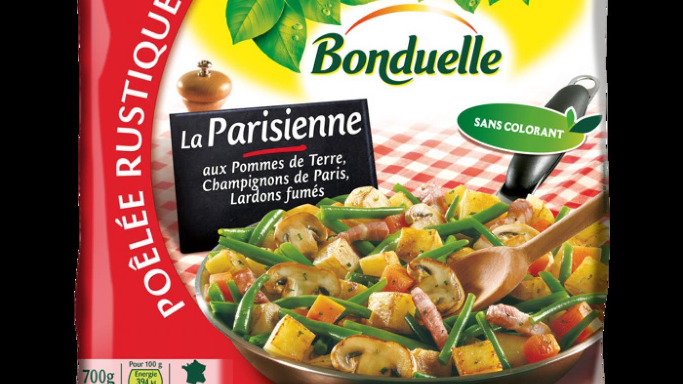 Bonduelle rappelle des poêlées de légumes pour des éclats de verre