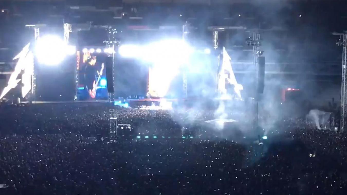 Quand Metallica reprend du Johnny Hallyday, voici ce que ça donne (vidéo)