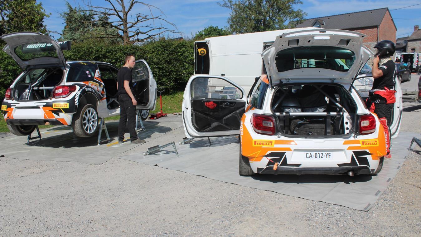 Floursies Un Rallye Automobile ça Se Prépare Sur Les Petites