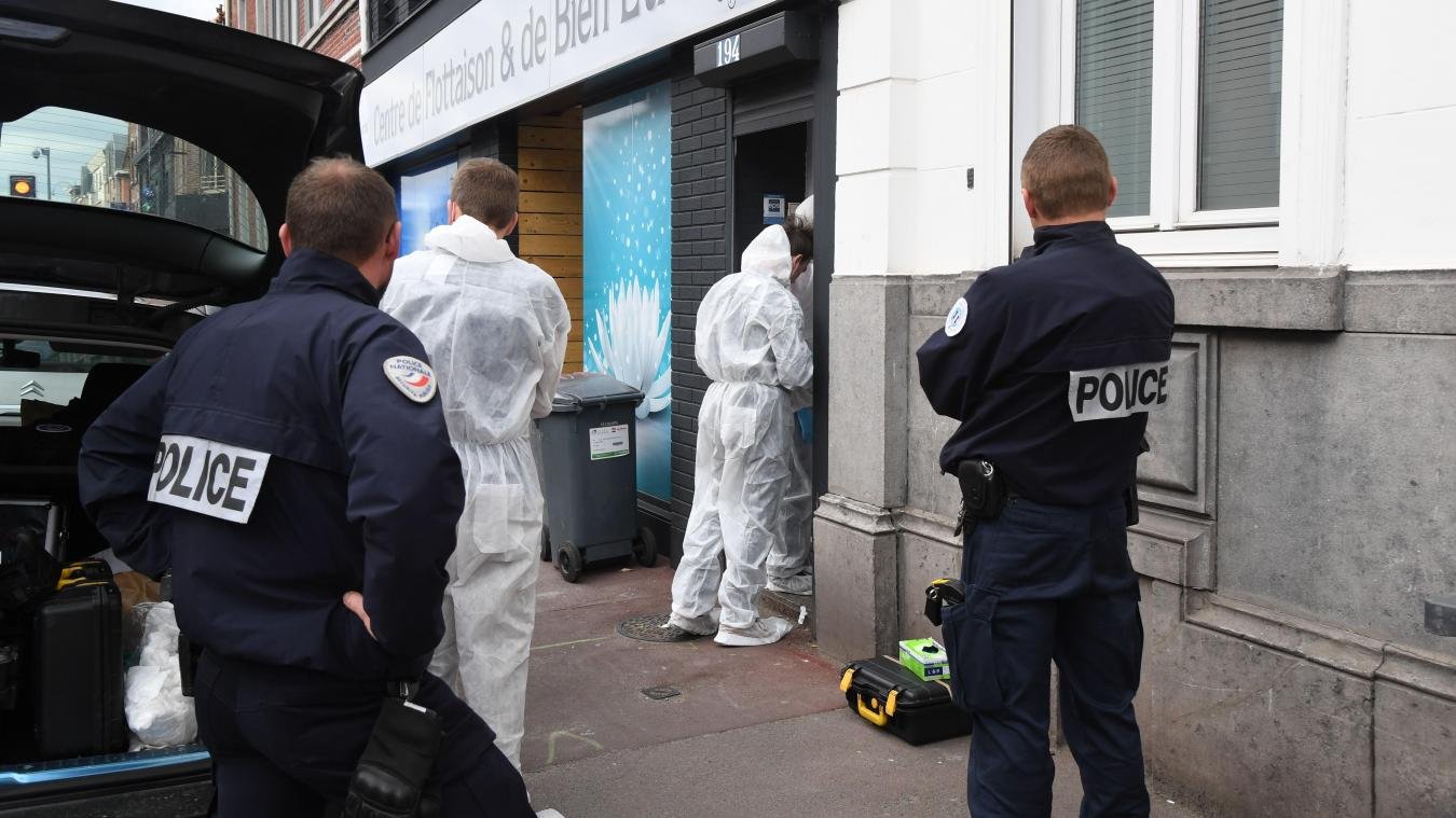 efc932b8f2cff6 Une femme a été retrouvée morte dans son appartement après avoir été  kidnappée dans un parking lillois hier matin. PHOTO STEPHANE MORTAGNE -  VDNPQR