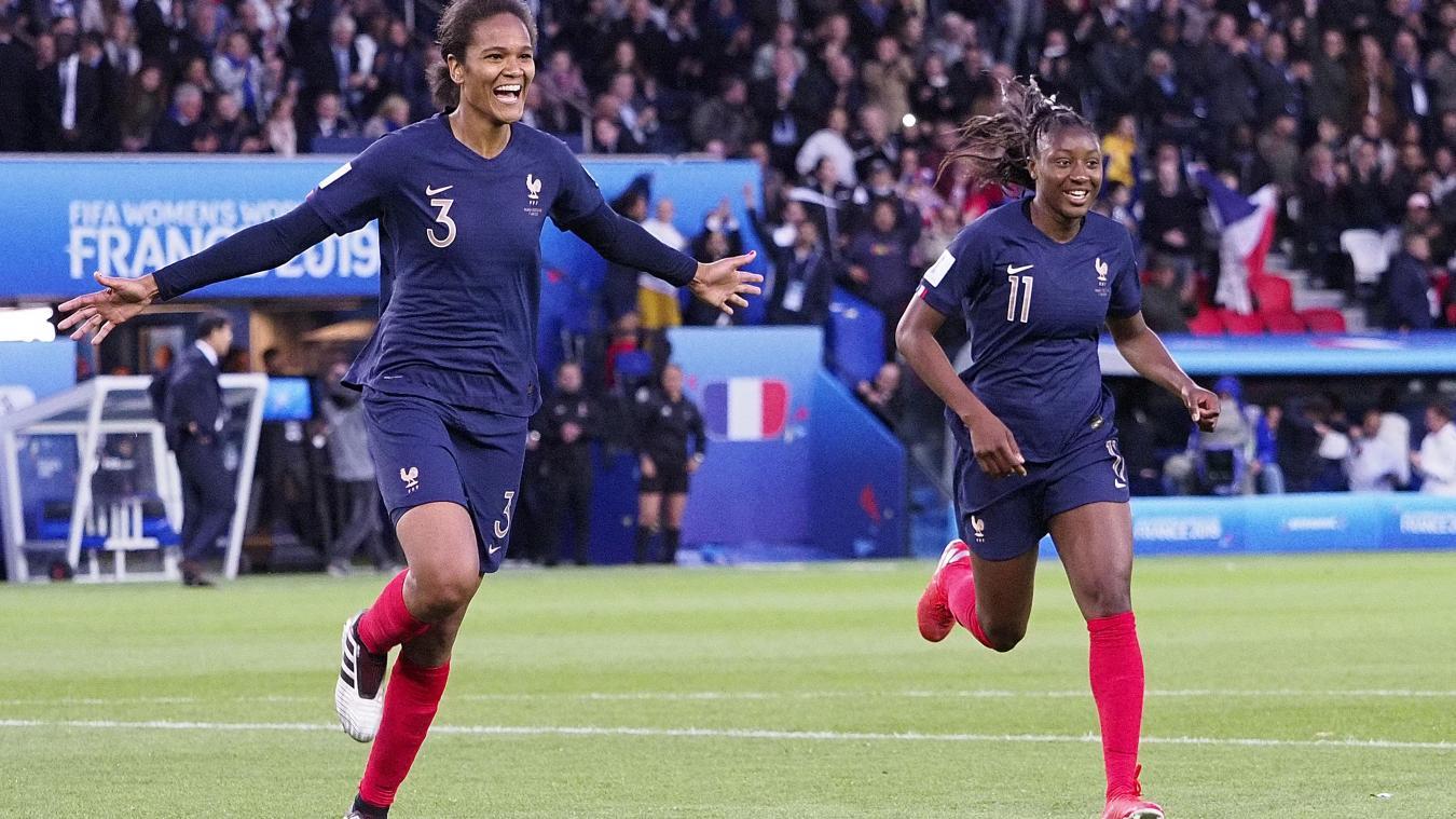 Coupe du monde féminine de football Wendie Renard, appelez,la aussi « Air  France »