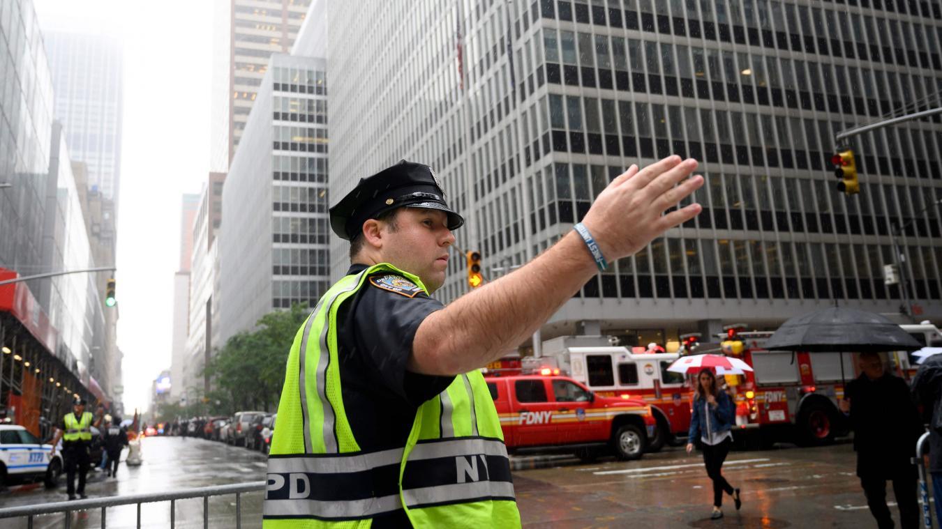 Un hélicoptère s'écrase sur un immeuble au cœur de Manhattan