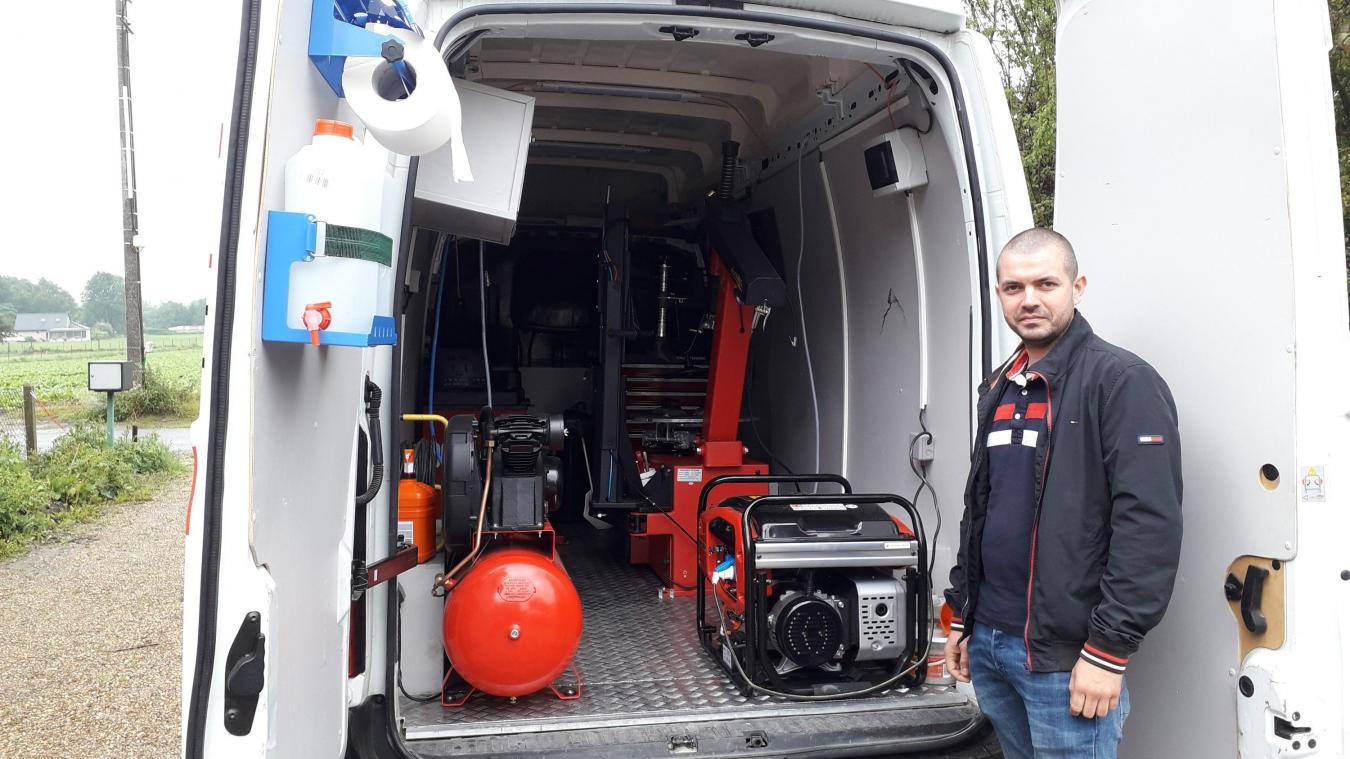 Renescure : Samuel Wattrelot est garagiste à domicile