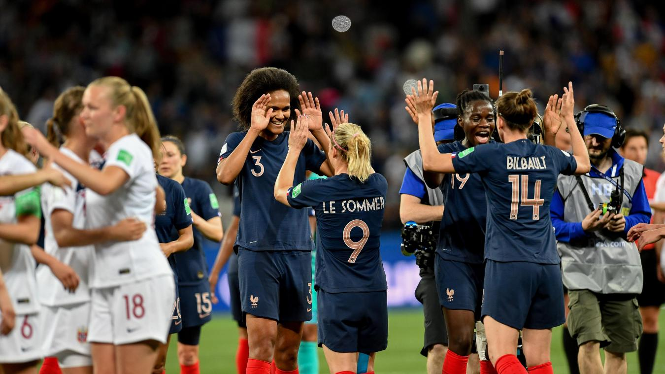 Mondial 2019. La France officiellement en 8 es de finale