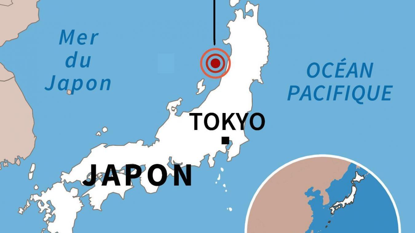 26 blessés après un puissant séisme — Japon