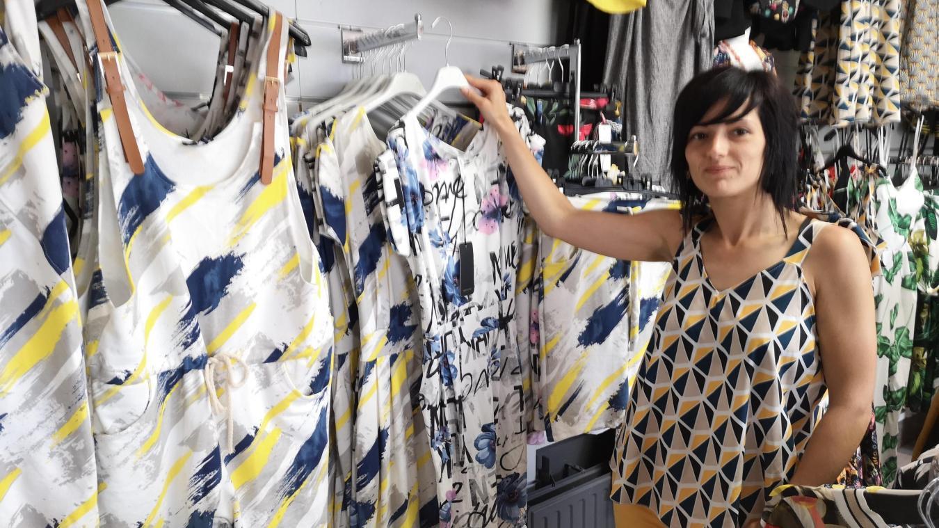 92370b4a97cd97 Élodie Verhaeghe a ouvert une boutique de vêtements, spécialisée dans les  grandes tailles.