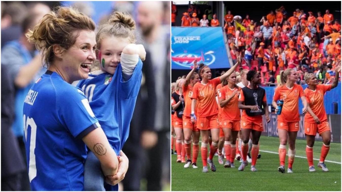 Coupe du Monde féminine 2019 : l'Italie éliminée face aux Pays-Bas