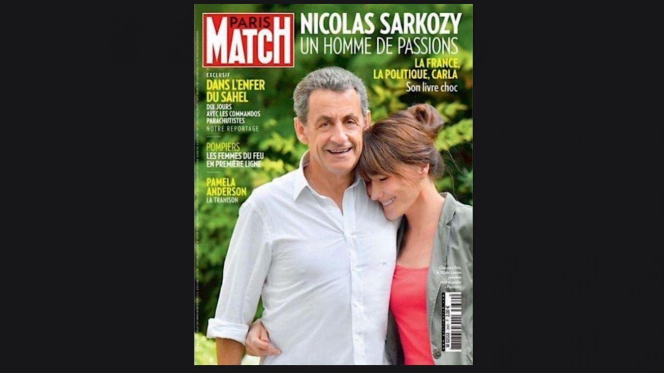 Nicolas Sarkozy Plus Grand Que Carla Bruni Paris Match Dement Avoir Retouche Sa Photo