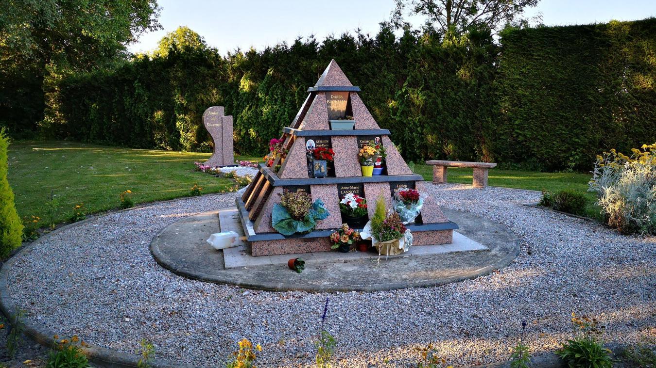 Un jardin du souvenir aménagé au fond du cimetière de Saint ...