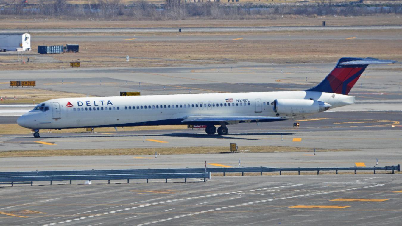 Scène inquiétante sur un vol de Delta