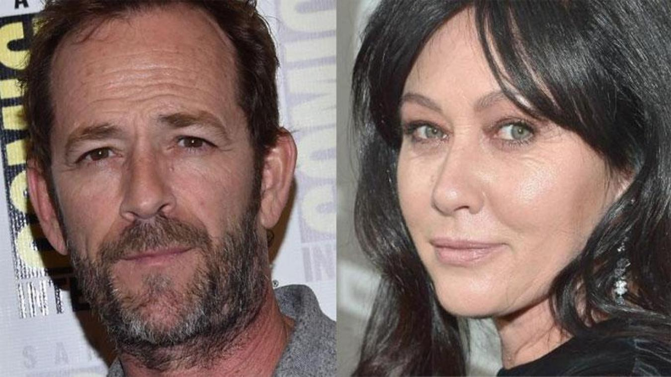 Shannen Doherty dans Riverdale-Gedächtnisfolge Nouvelles — Luke Perry