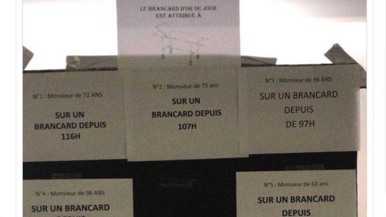 Un homme passe cinq jours sur un brancard du CHU — Saint-Étienne