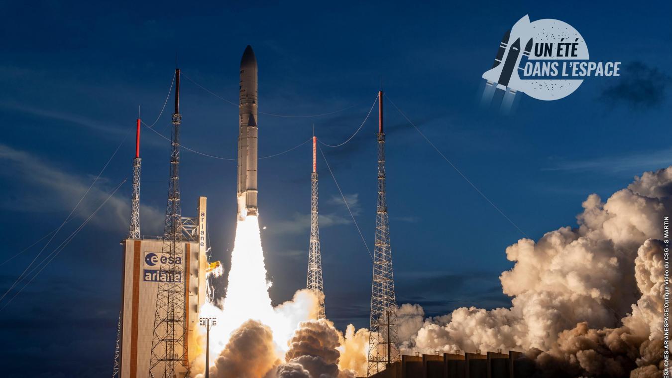 Calendrier Lancement Ariane 2019.D Ariane 5 A Ariane 6 Au Cœur Des Enjeux De La Competition