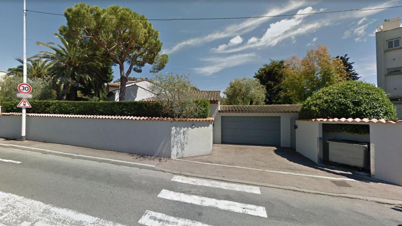 La scène s'est déroulée au Cannet dans les Alpes-Maritimes ce samedi. Google Street View