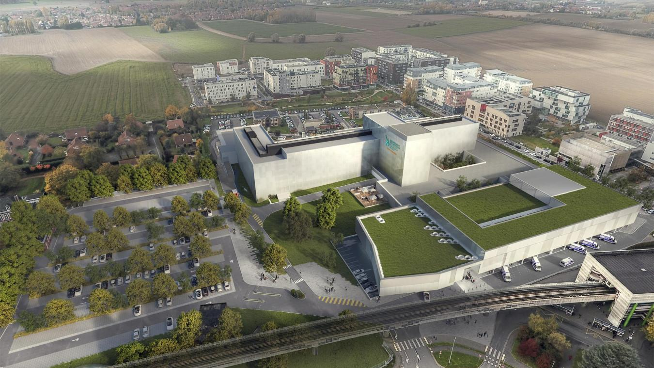 À Lomme, l'hôpital Saint-Philibert se métamorphose