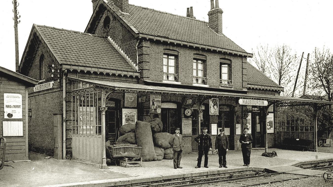 En 1865, entre Lille et Béthune, une voie ferrée traverse Haubourdin pour la première fois