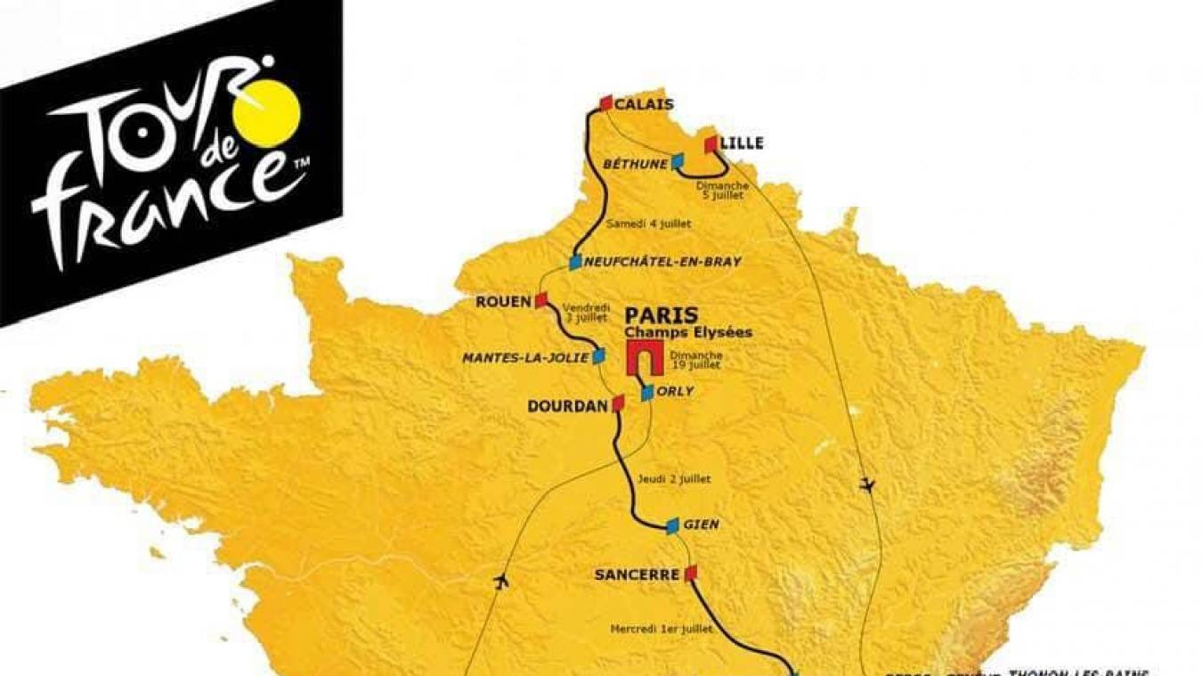 Calendrier Course Cycliste Professionnel 2020.Cyclisme Non Calais N Accueillera Pas Le Tour De France En