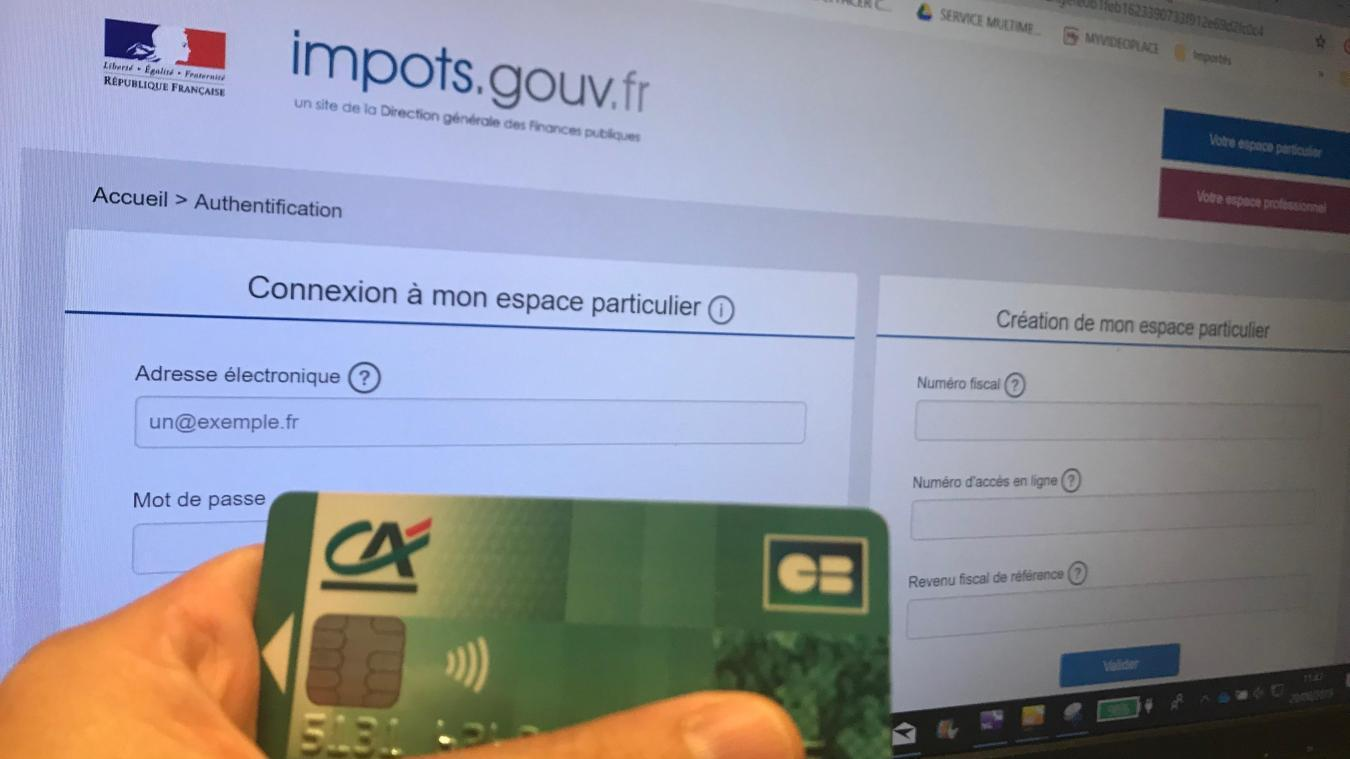 Impôts: environ 2.000 comptes fiscaux piratés au début de l'été