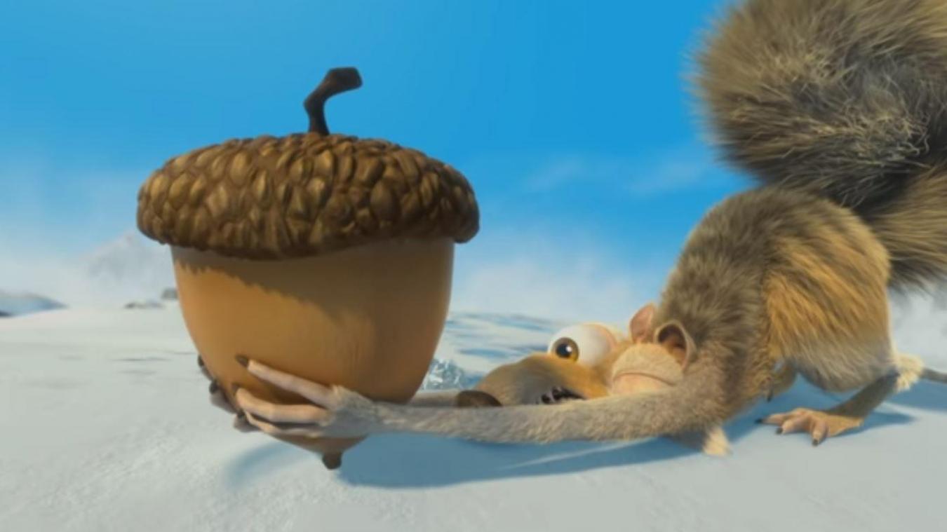 Découverte d'un incroyable fossile ressemblant à Scrat de