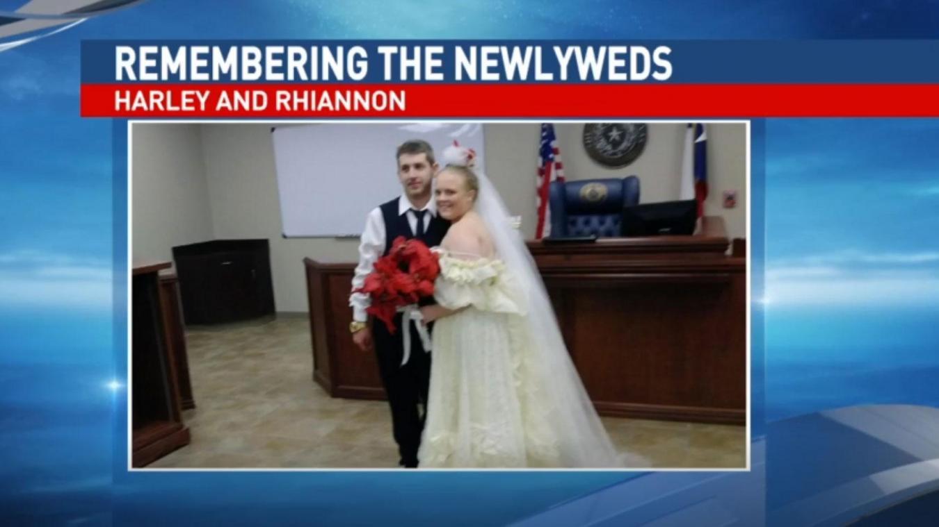 La mort frappe, 10 minutes après leur mariage