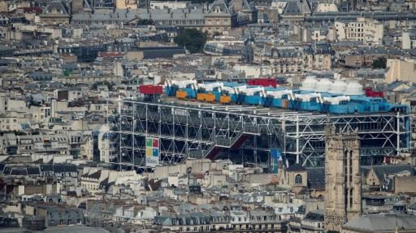 Un Banksy volé au centre Pompidou de Paris
