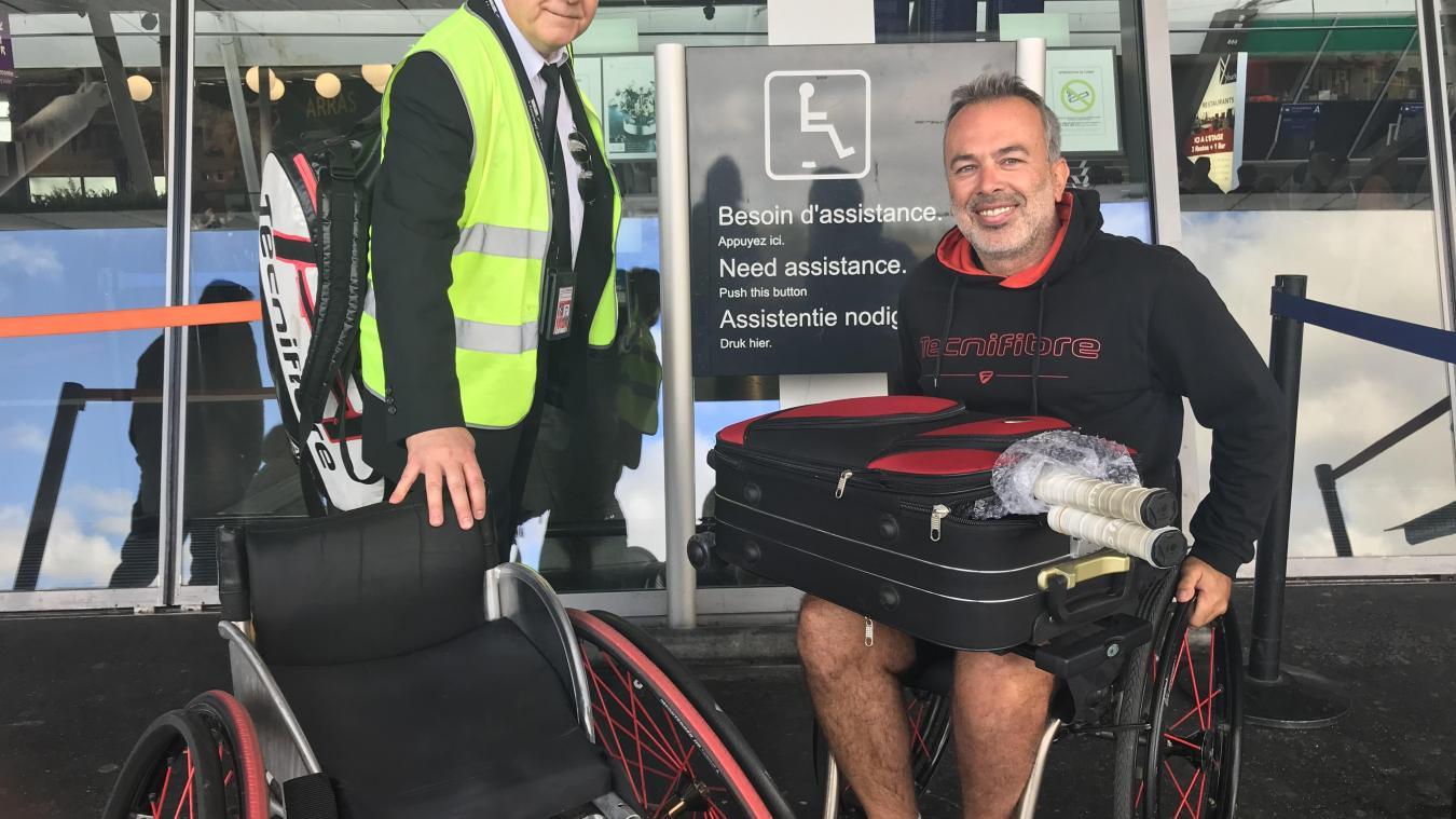 L'aéroport de Lille-Lesquin soigne ses services à destination des personnes handicapées