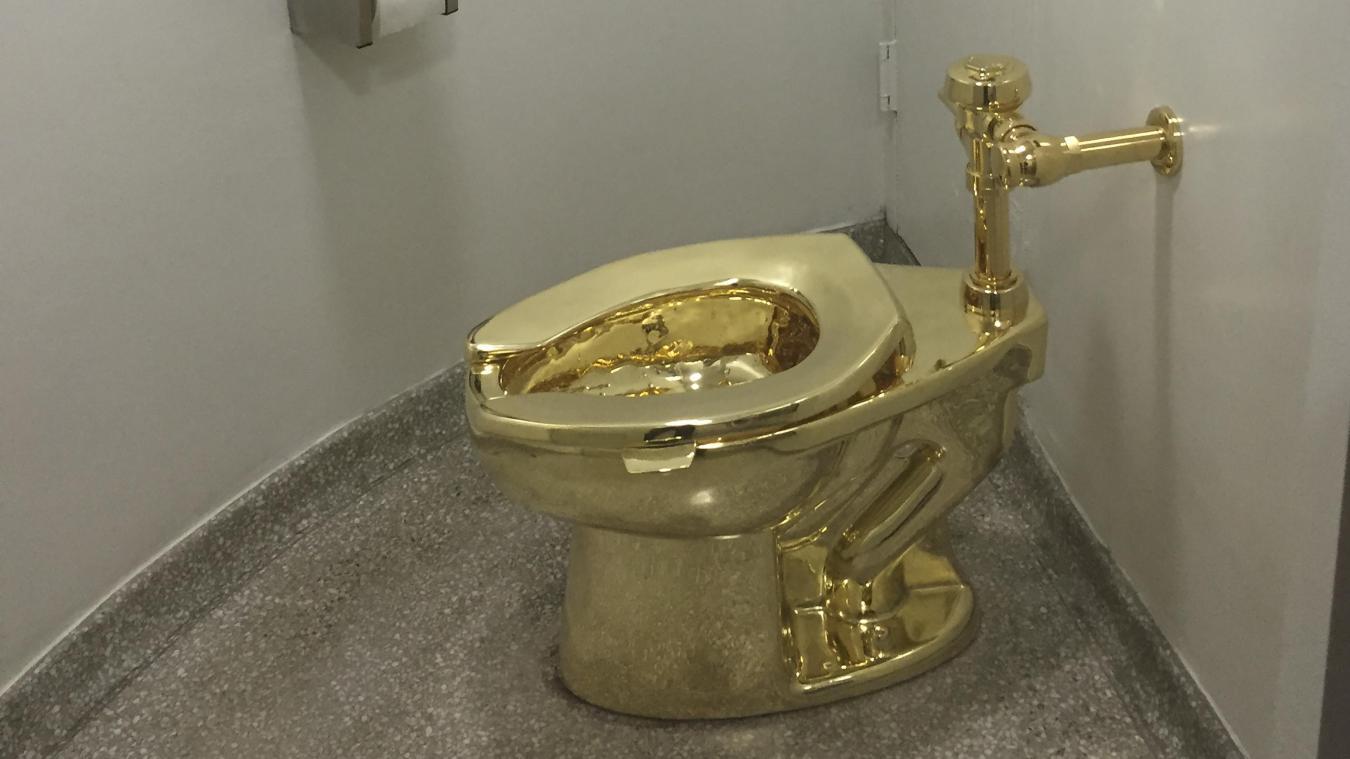 Un WC en or massif volé dans un palais — Angleterre