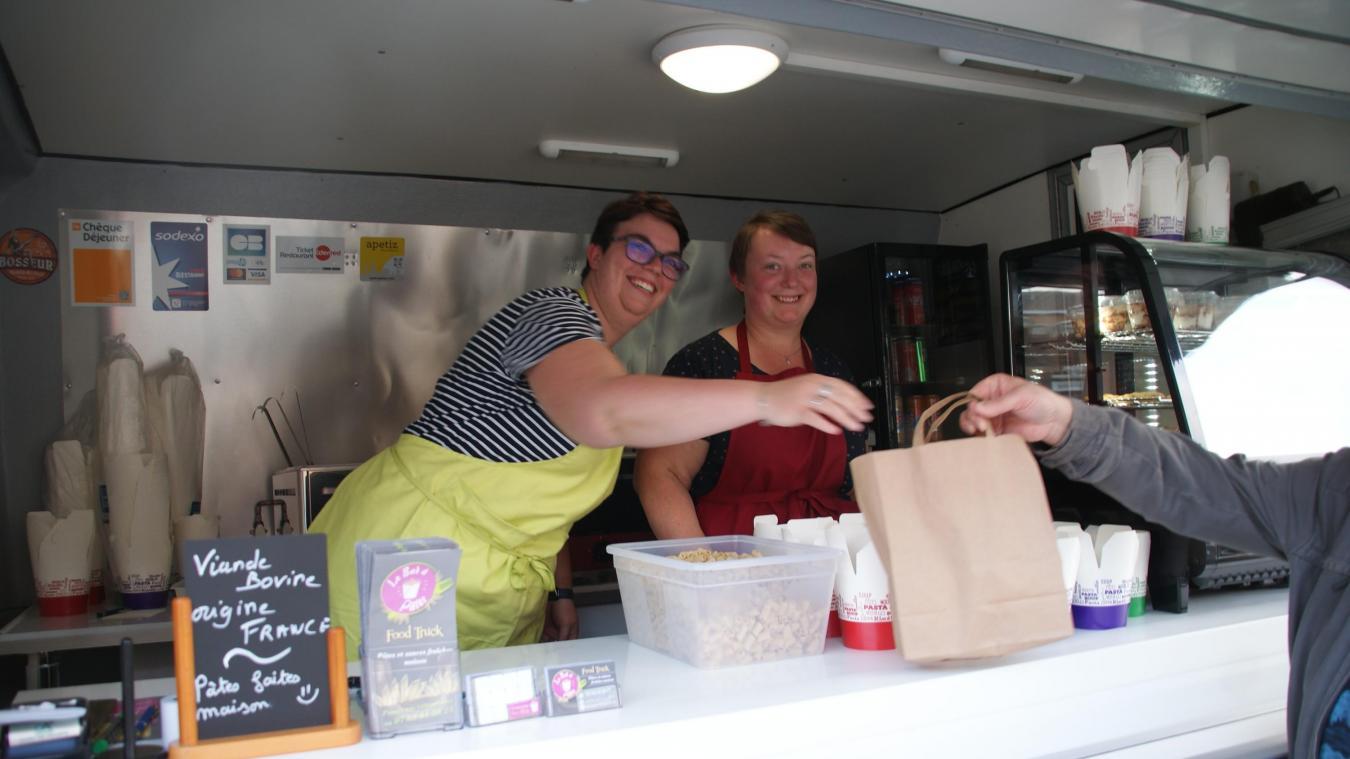 Wormhout  le bar à pâtes de Sandra et Anne propose des produits frais  faits maison