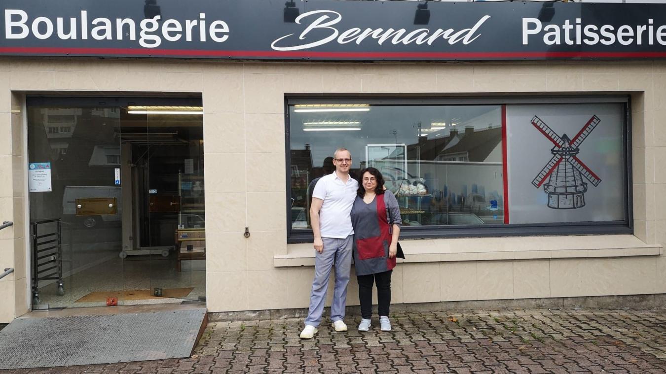 Bernard», la nouvelle boulangerie,pâtisserie à Outreau