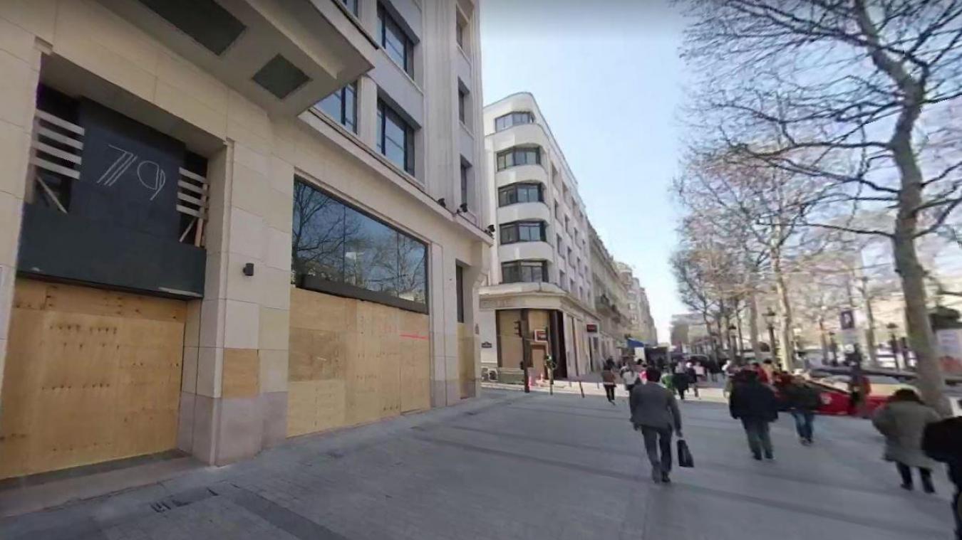 Nike fait flamber l'immobilier des Champs-Elysées