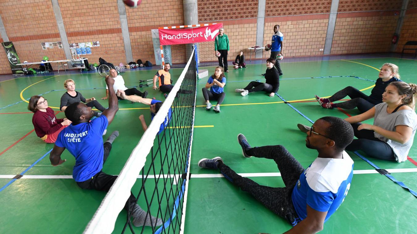 Faire du sport autrement? Venez tester le handisport à Hallennes-lez-Haubourdin, ce week-end! - La Voix du Nord