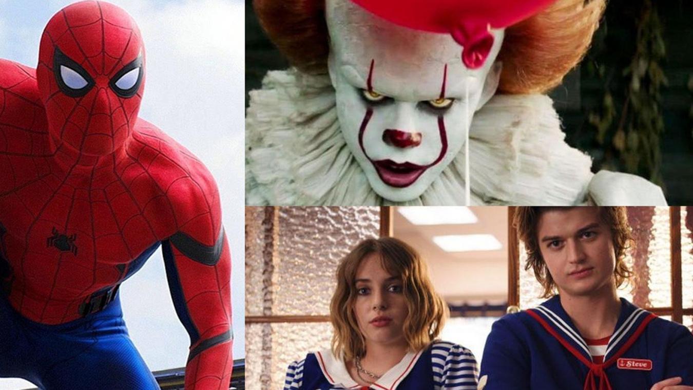Halloween 2019 Stranger Things Spider Man ça Les