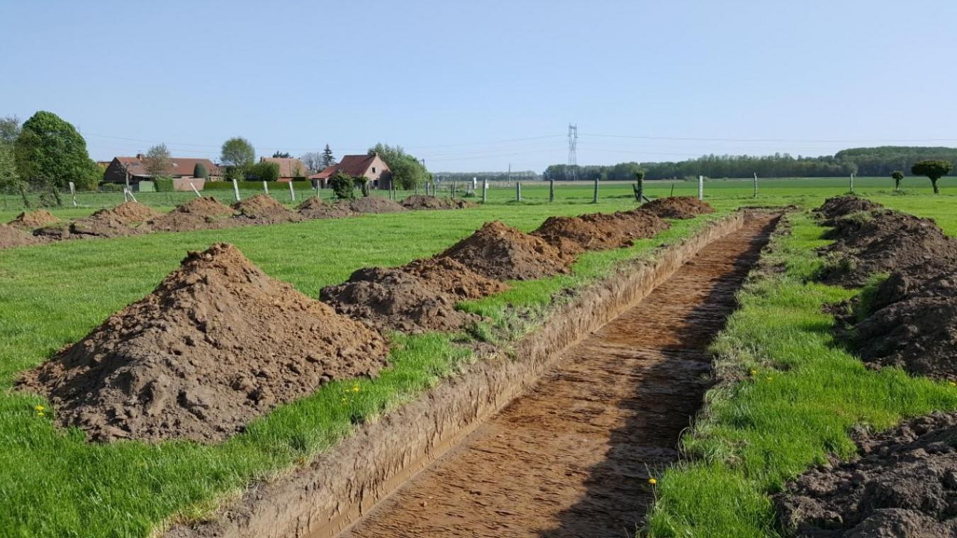 Les diagnostics archéologiques ont eu lieu en mai dernier; les services de l'État ont conclu en septembre qu'il n'y avait pas lieu de faire des fouilles archéologiques.
